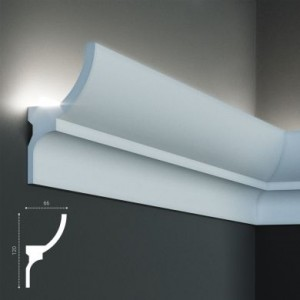 KF 712 (2м) Карниз для скрытой подсветки