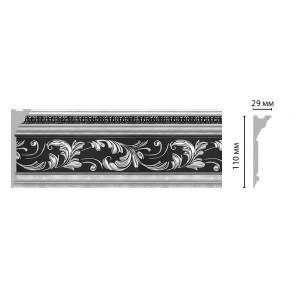 Плинтус потолочный DECOMASTER D225-63ДМ (110*29*2400мм)