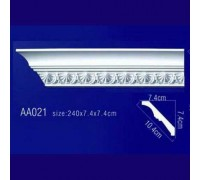 потолочный плинтус с орнаментом AA021 в Казани