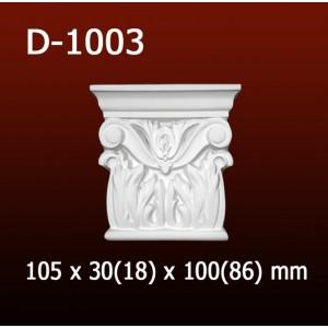 Дверной декор D1003(105*30/18*100/86) OptimalDecor в Казани