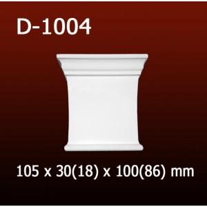 Дверной декор D1004(105*30/18*100/86) OptimalDecor в Казани
