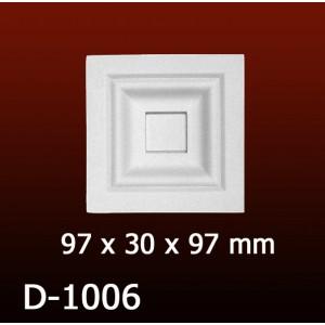 Дверной декор D1006(97*30*97) OptimalDecor в Казани