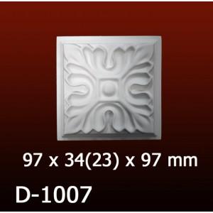 Дверной декор D1007(97*34/23*97) OptimalDecor в Казани