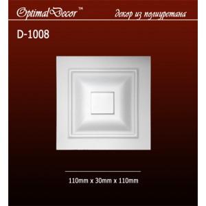 Дверной декор D1008 (110*30*110) OptimalDecor в Казани