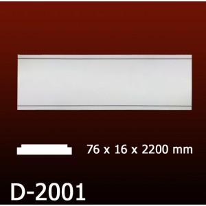 Дверной декор D2001(76*16*2200) OptimalDecor в Казани