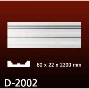 Дверной декор D2002(80*22*2200) OptimalDecor в Казани