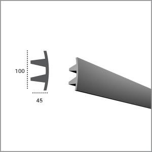 Профиль для светодиодной подсветки KF 503