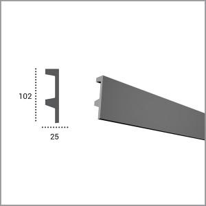 Профиль для светодиодной подсветки KF 504