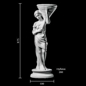 Статуя Цветочница ST-004