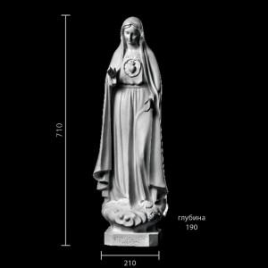 Статуя Божья Матерь ST-018