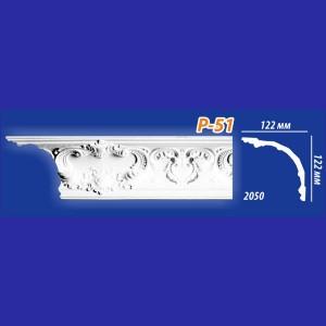 Плинтус потолочный инжекционный Kenopol Р51