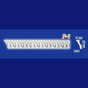 Плинтус потолочный инжекционный Kenopol Р1