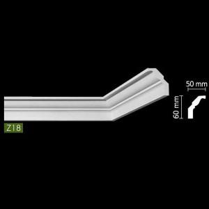 Гладкий потолочный профиль Z18 в Казани