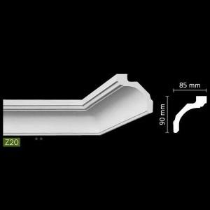 Гладкий потолочный профиль Z20 в Казани