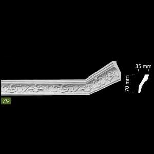 Потолочный профиль с рисунком Z9 в Казани