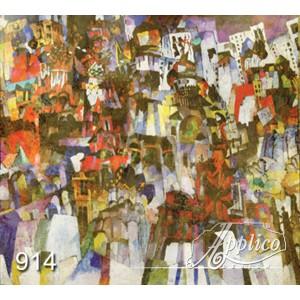 Фреска абстракт фр0914