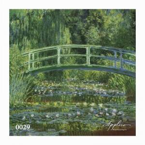 Фреска классический пейзаж фр0029