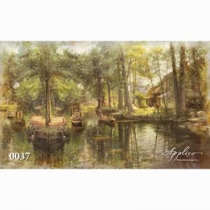 Фреска классический пейзаж фр0037