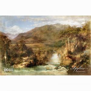 Фреска классический пейзаж фр0041